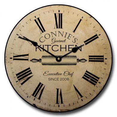 Gourmet Kitchen Clock