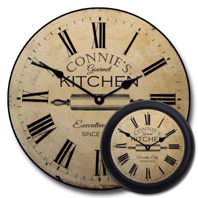 Gourmet Kitchen Clock mix