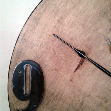 birch and metal closeup