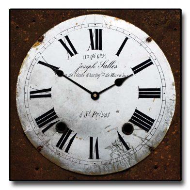 Joseph Sallas Square Clock