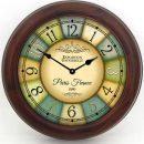 1889 Paris World's Fair Clock 2 brn frm