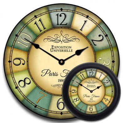 1889 Paris World's Fair Clock 2 mix