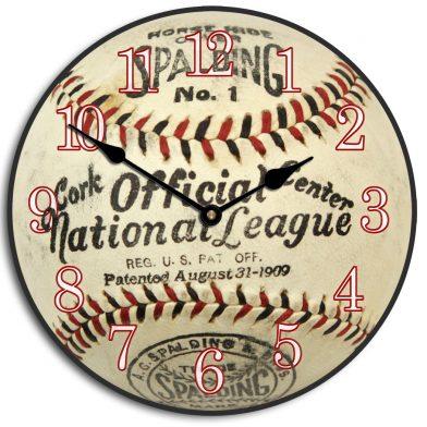 1909 Vintage Baseball Clock