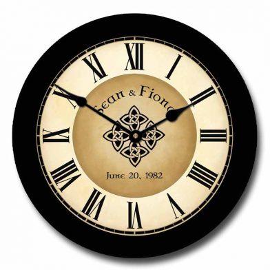 Irish Wedding Clock