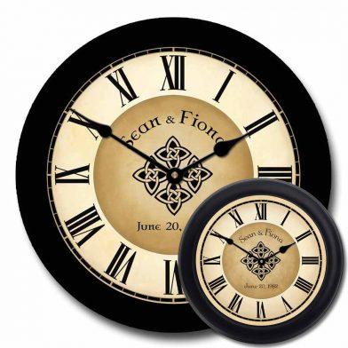 Irish Wedding Clock mix