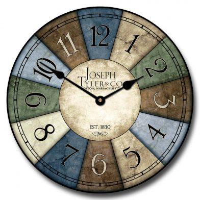 Le Belle Bleue Clock