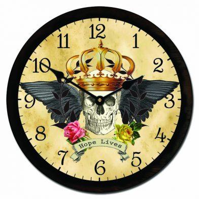Rockabilly Clock