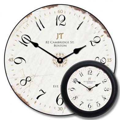 Vintage White Clock mix
