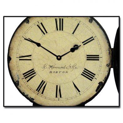 1814 E Howard & Co Clock