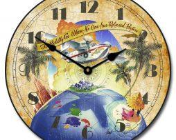 Boldly Go Clipper Clock