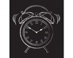 Chalk Alarm Clock