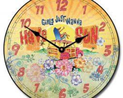 Girls Wanna Sun Clock