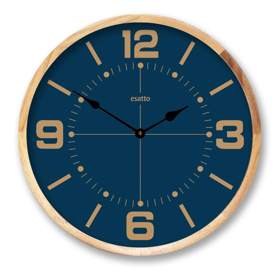 Brown number Clock