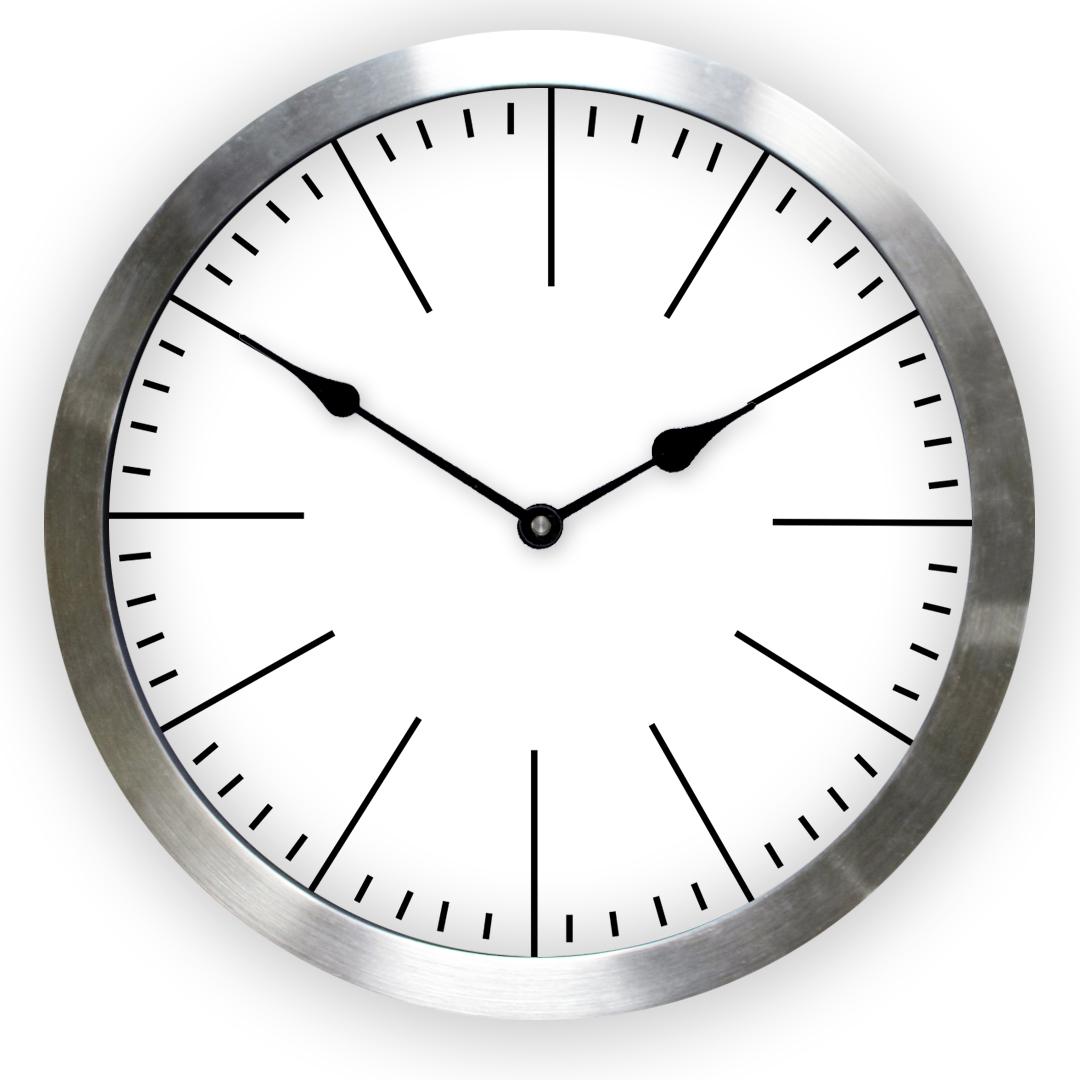 Metal Framed Clocks Online