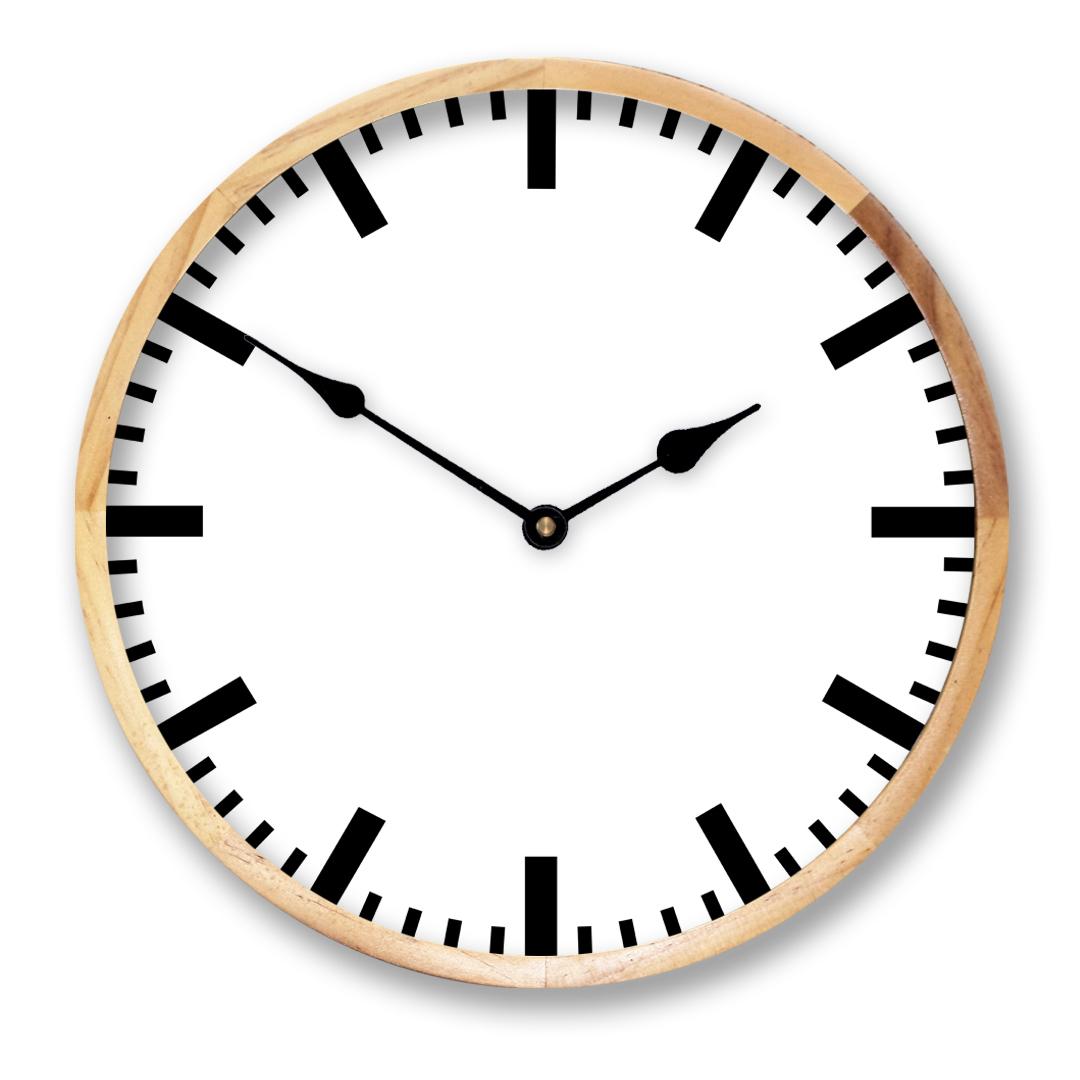 Black Framed Clock