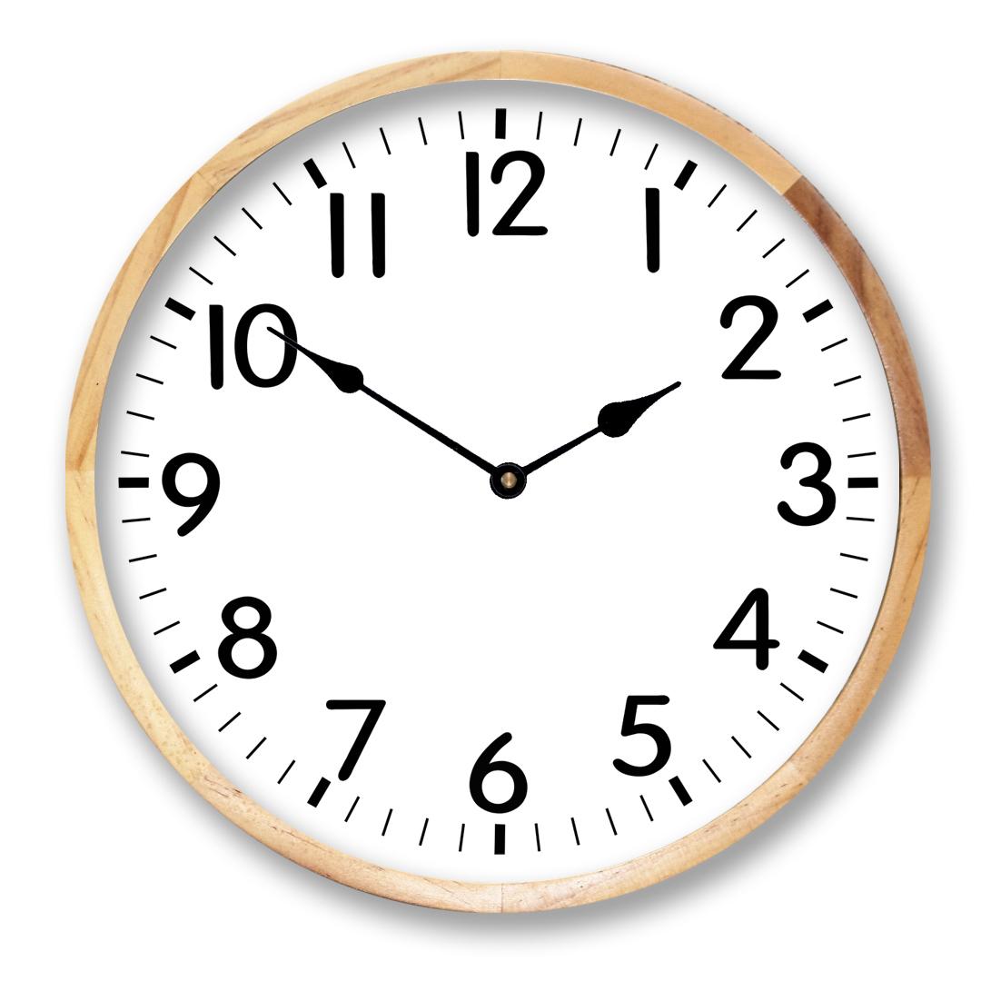 Birch Framed Clock Online