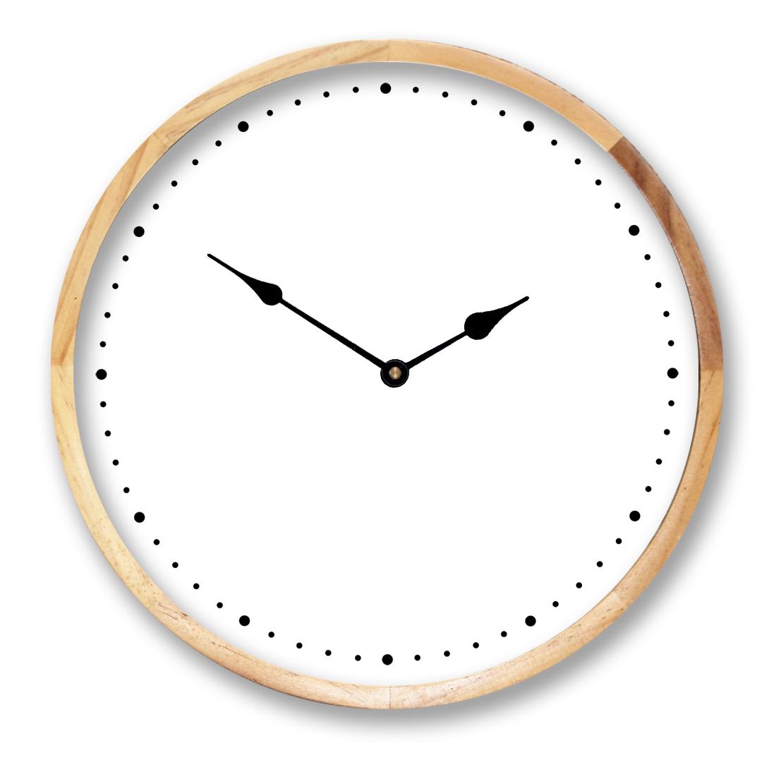 You Design Birch Framed Clock