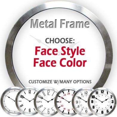 metal clock listing