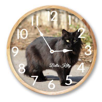 pet-clock-cat