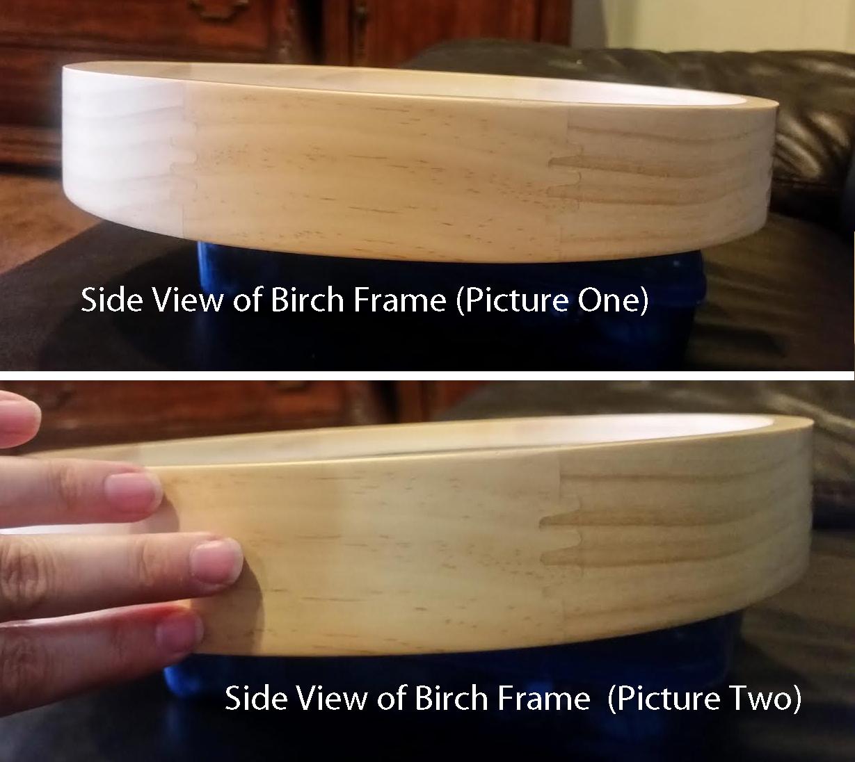 side view birch