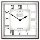 Classic White Square Clock