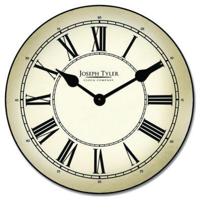 Classy Parchment Clock1