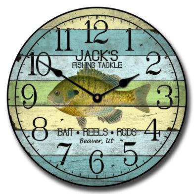 Fishing Clock 3