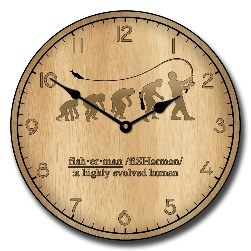Fishing Evolution Clock
