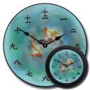 Japanese Koi Clock mix