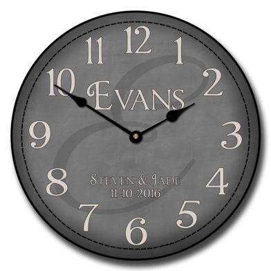 Monogram Clock 2