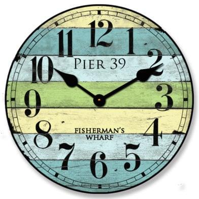 Pier 39 Clock