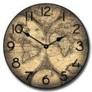 Roman Map Clock