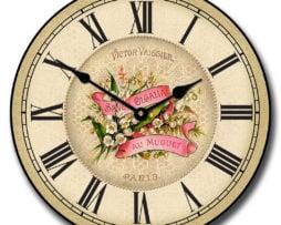 Savon Powder Room Clock