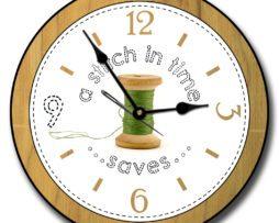 Sewing Room Clock