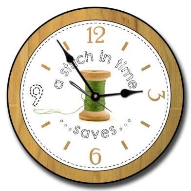 Sewing Room Clock 3