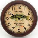 fishing clock 2 brn frm