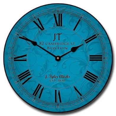Sydney Blue Clock