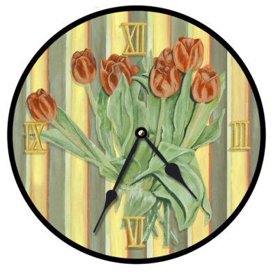 23091-Orange Tulips