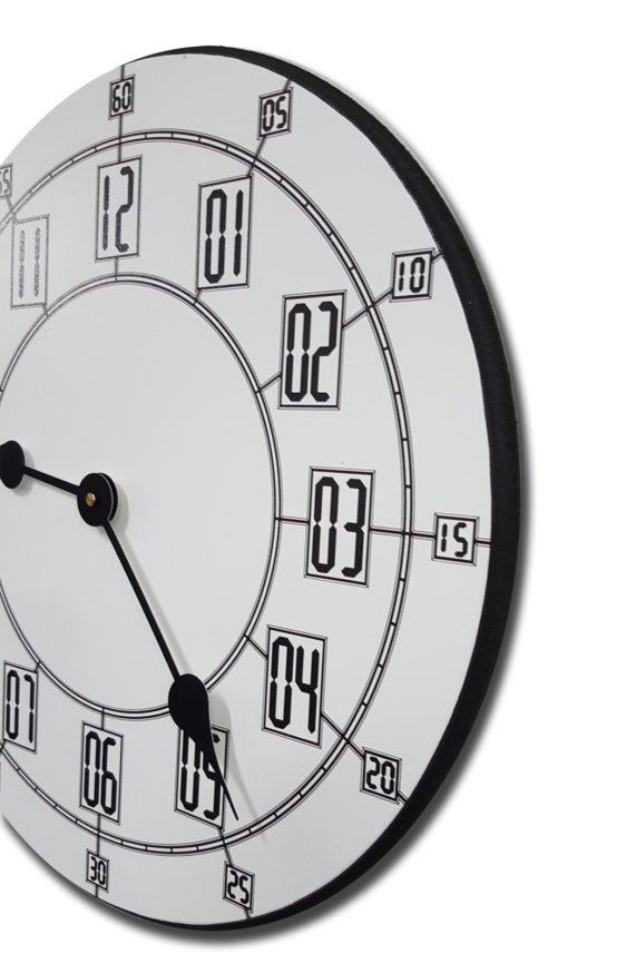Alton White Clock side