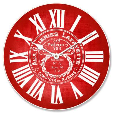 Galeries Lafayette Red Clock