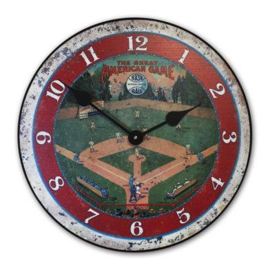 field of dreams baseball clock