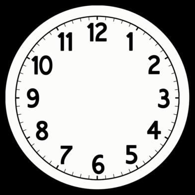 Telegraph Clock reg blank