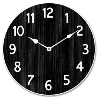 Organic Black Clock