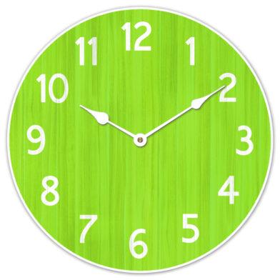 Organic Lime Clock