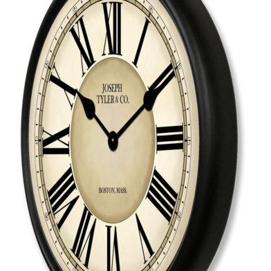Waterford Clock blk met0