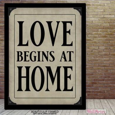 Love begins at home fr