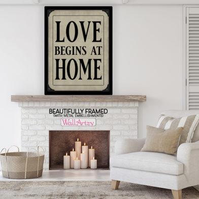 Love begins at home room fr