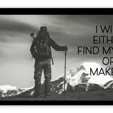 find or make alone