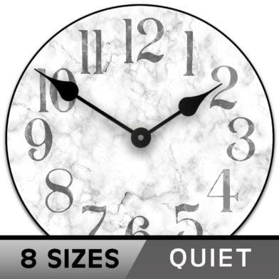 Marble clock 8